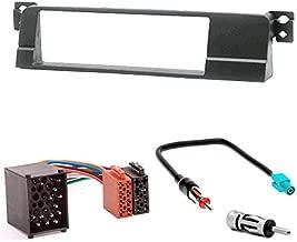 adaptador para bmw 5er e39 /& x5 e53 Auto 1-din instalación diafragma//marco
