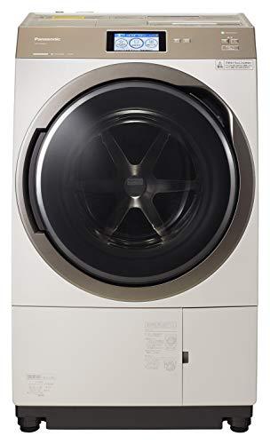 パナソニックななめドラム洗濯乾燥機11kg左開き液体洗剤・柔軟剤自動投入ナノイーXノーブルシャンパンNA-VX900AL-N