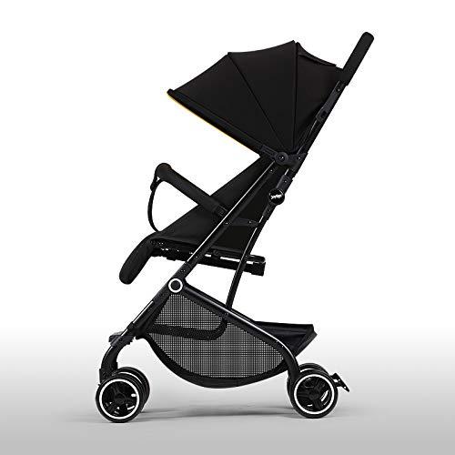 BOROAO 3-in-1 baby opvouwbaar trolley-licht kan in een vliegtuig zitten, seizoenen sportkinderwagen slapen, C