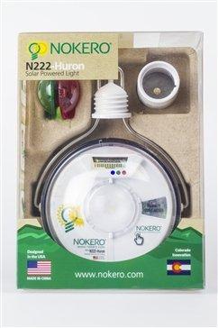 Nokero N222Huron Lampe avec lumière à énergie Solaire