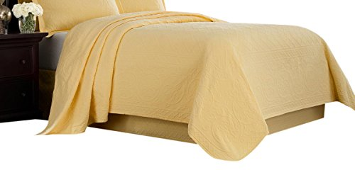 Read About Williamsburg Yellow Twin Richmond Coverlet