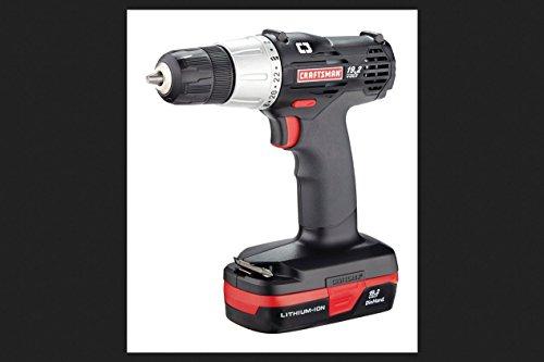 Craftsman C3 Drill/Driver 19.2 Volt 600 Rpm Li-Ion