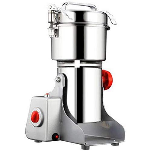 Elektrische Getreide Gewürze Getreide Kaffee Trockenfutter Mühle Schleifmaschinen, Hause Pulver Brecher Grinder,Silber