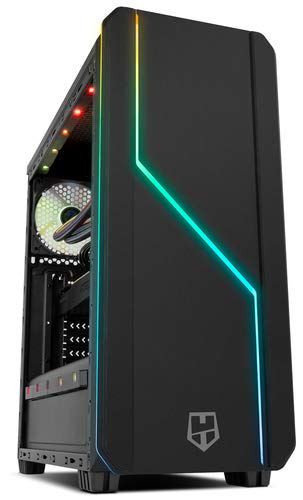 Arizone PC Ordenador SOBREMESA Gaming AMD RYZEN 7 5800X up to 4,7Ghz x 8 | 16GB DDR4 | SSD 480GB | GRÁFICA RX550 4GB GDDR5 | WiFi