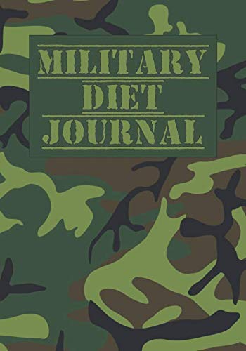 Military Diet. Blank Notebook: Write your results or plan your food.
