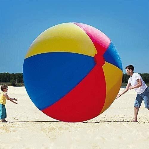 NLRHH Plegable Piscina, Agua de la Piscina colchón Inflable, Pelotas de Playa de Verano, Juguetes inflables, de Tres Colores de PVC Bola Inflable Juguetes del Partido Peng