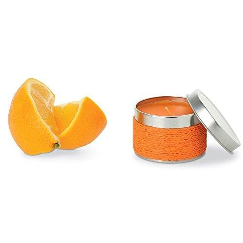 Set mit 20Kerzen Duft Orange–Kerzen für Taufen Details und Erinnerungen