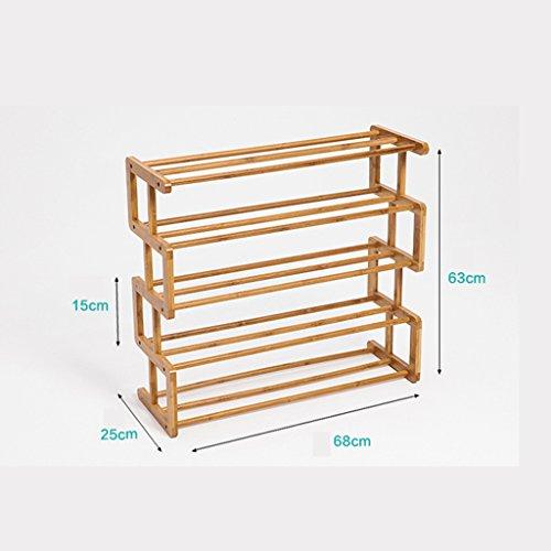 XXHDEE meerlaags eenvoudig economisch hoofdmontage-schoenenkast IKEA slaapzaal-vaste houten opslagrek schoenenrek