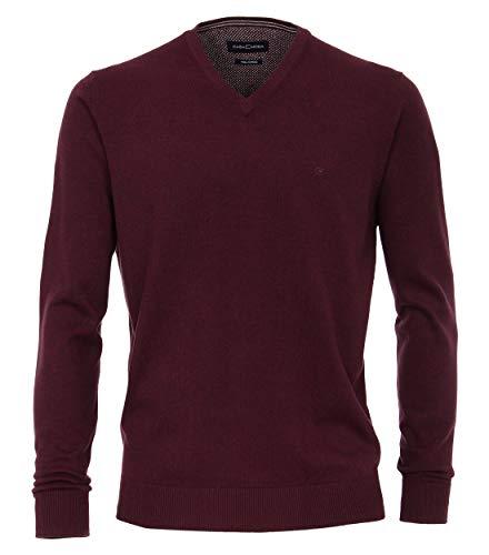 CASAMODA Pullover suéter, Rojo (Bordeaux 443), X-Large para Hombre