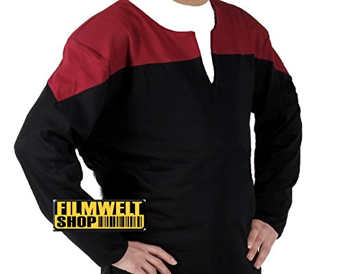Filmwelt - Star Trek Voyager Uniform rot Captain Größe XL