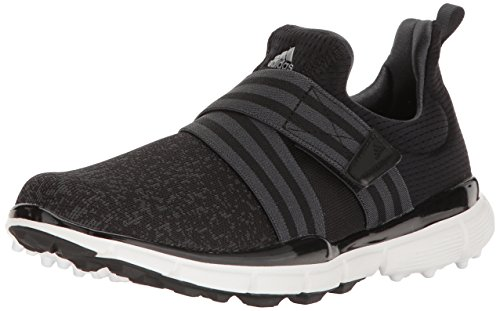 adidas Women\'s Climacool Knit Golf Shoe, Black, 8 M US