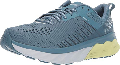Hoka One Women's Arahi 3 Running Shoes, Aegean Blue Plein Air, 6 B(M) US Women