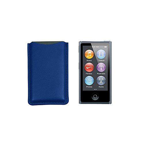 Lucrin - Funda para iPod Nano 7G (Piel), Color Verde
