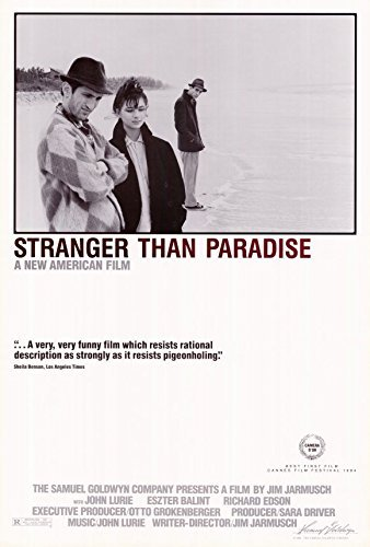 Stranger Than Paradise - Movie Poster - 27 x 40 by Punt Dog Posters