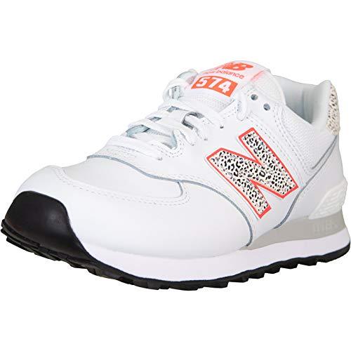 New Balance NB 574 - Zapatillas para mujer, color Blanco, talla 41 EU