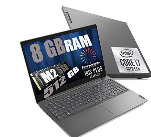 Notebook Lenovo I7 V15 Portatile Display Full HD da 15.6  Cpu I7 Quad Core I7-1065G7 10Th Gen. 3,9Ghz  Ram 8Gb DDR4  SSD M2 512GB INTEL IRIS PLUS  Hdmi Wifi Bluetooth Windows 10 Pro