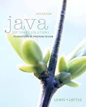 Java Software Solutions plus MyProgrammingLab with Pearson eText -- Access Card Package (8th Edition)