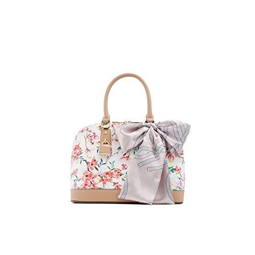 ALDO Yilari Dome Satchel Handbag, White Overflow