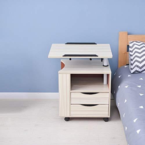 RTYU Bandeja de escritorio ajustable para computadora portátil, escritorio, estudio, mesa de ordenador portátil, escritorio, mesa auxiliar (color: versión Q)