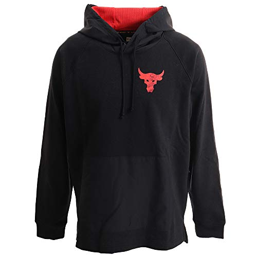 Under Armour – UA Hoody Project Rock Terry – Sudadera para hombre – 1355633.001 (M)