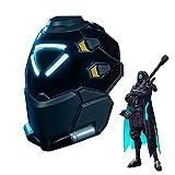 Ana Shrike Cosplay Helmet Overwatch – Full Scale Exclusive 1:1 LED Light-up Ana Amari Mask