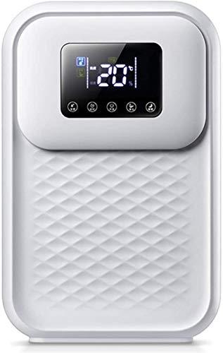 L&B-MR Deshumidificador Portátil (Tanque De Agua De 800 Ml), Compacto Pequeño Deshumidificador Pantalla Digital De Control Inteligente, para 270 Pies Habitación, Ultra Silencioso para Dormitorio