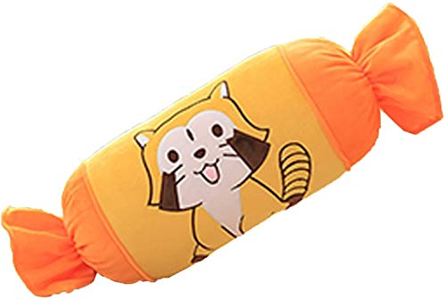 RSBCSHI Nette Bonbons Kissen Plüschtier, Puppe Große Größe Kissen Plüschtier-Puppe, für Kinder schlafende Kumpel ausgestopfte Tier Kinder Geburtstage Geschenke, 60cm (Color : C)