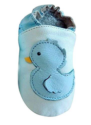 Seruna Krabbelschuh-e Kind-er Baby Lauflern Krabbel-Schuhe Leder KS2 Gr. XL/19