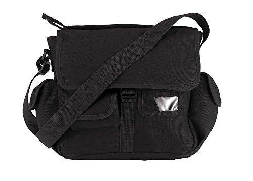 Rothco Canvas Urban Explorer Bag, Black