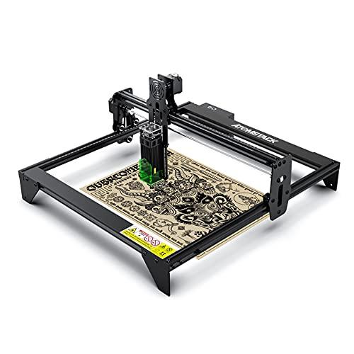 Risegun Grabador láser A5 20W - ATOMSTACK A5 20W Grabador láser DIY Máquina cortadora de Grabado láser para Madera, Cuero, Enchufe de la UE