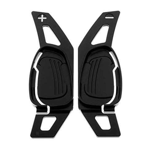 Dasing Autolenkrad-Schaltpaddel Schwarz für A5 S3 S5 S6 SQ5 RS3 RS6 RS7 LenkradzubehhR