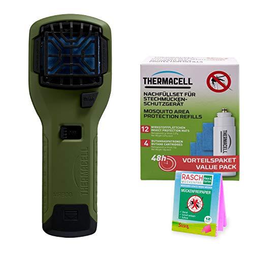 Thermacell MR-300G + R-4 + Rasch Mückenpapier - Das Mückenschutzset als Sparset