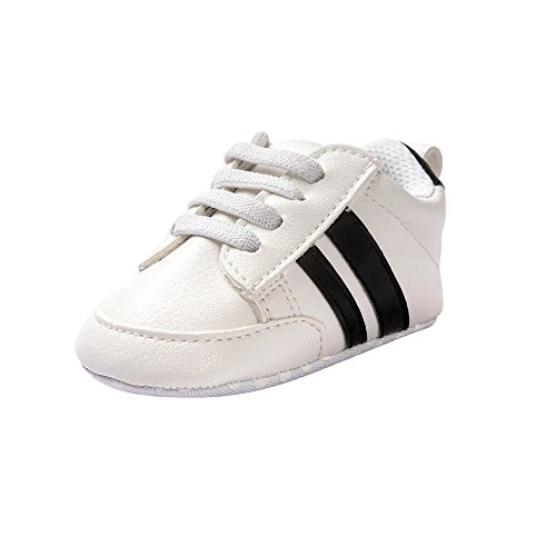 Fossen Zapatos de bebé calzado deportivo de cuero antideslizante inferior suave para...