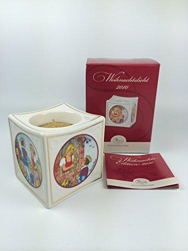 Hutschenreuther Porzellan Weihnachtslicht Licht (Tischlicht, Teelicht) 2010 in der Originalverpackung NEU 1.Wahl