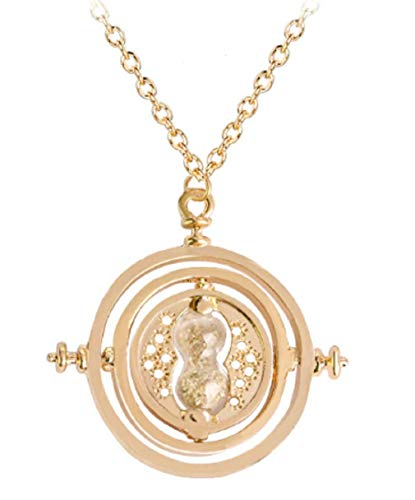 Réplica Colgante collar Giratiempos Hermione - Collar reloj de arena (Dorado)