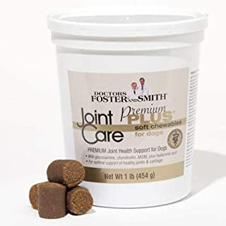 Drs. Foster & Smith Joint Care Premium Plus Soft Chews for Dogs