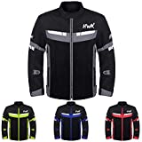 HWK Mesh Motorcycle Jacket Riding Air Motorbike...