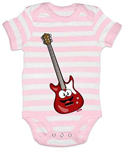 Hariz - Body para bebé, diseño de rayas, guitarra eléctrica, instrumento para...