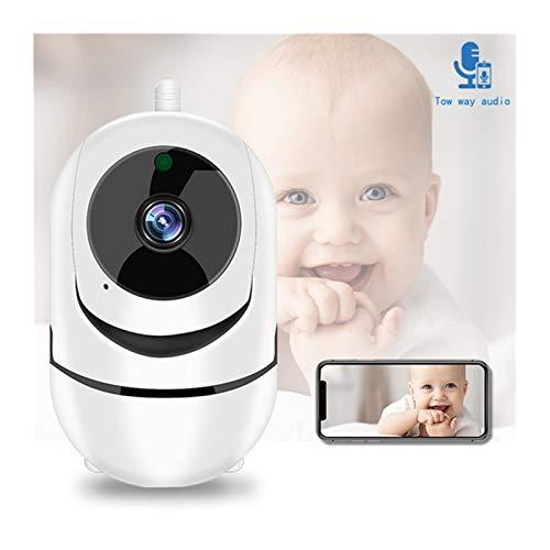 Smart IP Kamera Home Security Surveillance 1080P Cloud Auto Tracking Netzwerk Wireless WiFi Camera Pulley (Fokus: 3,6 mm, Steckertyp: AU-Stecker, Sensorgröße: 720P schwarz)