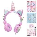 Best Headphone For Kids - Charlxee Unicorn Kids Headphones Children Girls Teens Foldable Review