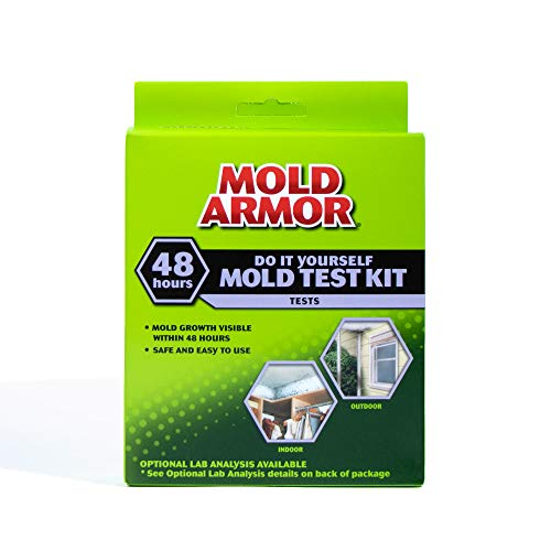 Mold Armor FG500 Do It Yourself Mold Test Kit, Grey Air Quality Monitor and Mold Detector 1 Pack
