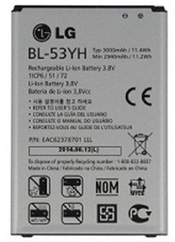 LG - Batería Original BL-53YH Optimus G3 D830 D850 D851 D855 LS990 VS985 F400 G3
