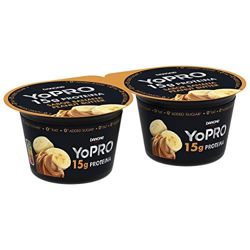 YoPro Plátano y Mantequilla de Cacahuete 2x160 g