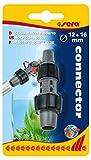 Sera 45065 - Conector de Manguera (12 a 16 mm, Conector de Manguera de 12/16 a 16/22, Reductor de 16/22 a 12/16, Filtro Exterior, Reductor de Acuario