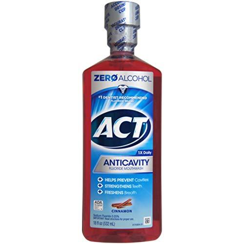 ACT Anticavity Fluoride Rinse Cinnamon 18 oz