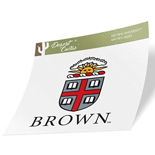 Brown University Bears NCAA Vinyl Decal Laptop Water Bottle Car Scrapbook (Sticker - 00001)