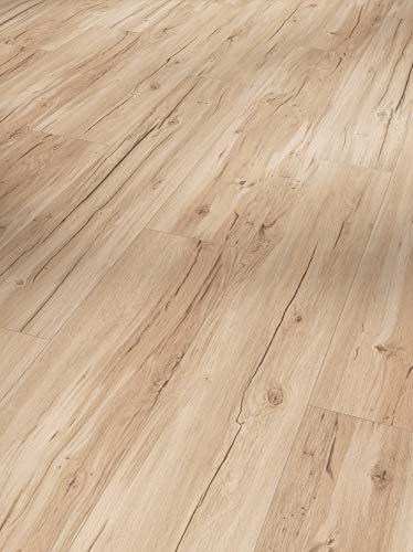 Parador Designboden Vinyl Wasserfest (SPC) 0,3 Eiche beige Landhausdiele Gebürstete Struktur