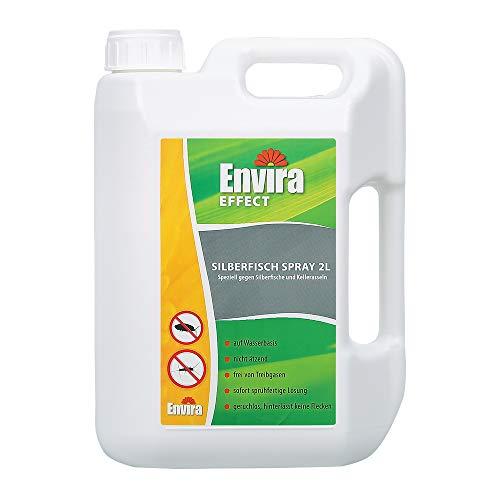 Envira Silberfisch-Spray - Anti-Silberfisch-Mittel Mit Langzeitwirkung - Geruchlos & Auf Wasserbasis - 2 Liter