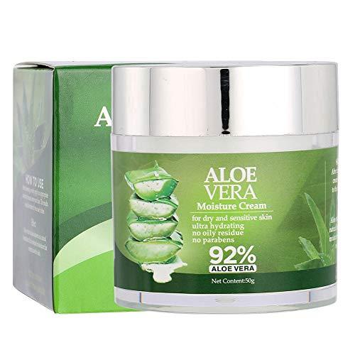 Aloë Vera Crème Aloë Vera Gel Facial Moisturizing Cream Hydraterende huidverzorging Serum Anti-Aging Essence Skin Moisturizer Lotion Snelle reparatie van muggenbeten, zonnebrand