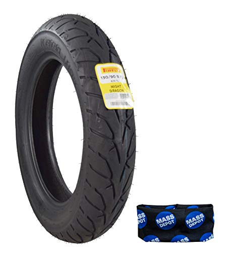 Pirelli Night Dragon Cruiser Motorcycle Tires Set (130/90B16 M/CTL Front)